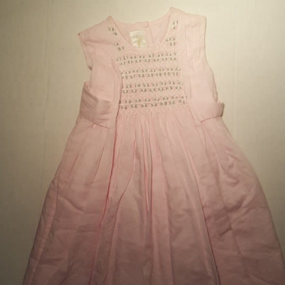 Strasburg Dresses Baby Pink Embroidered Dress 18 Months Poshmark